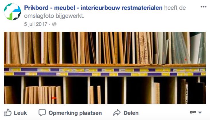 CBM begint facebook-marktplaats voor restmaterialen
