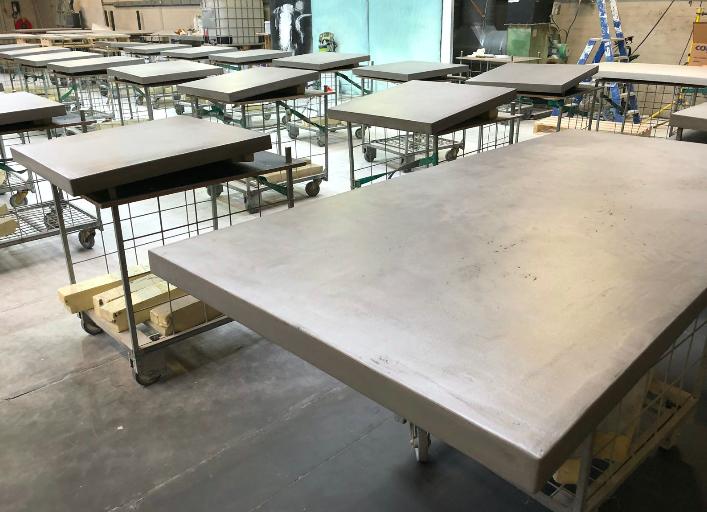 Betonlook voor kasten en tafels