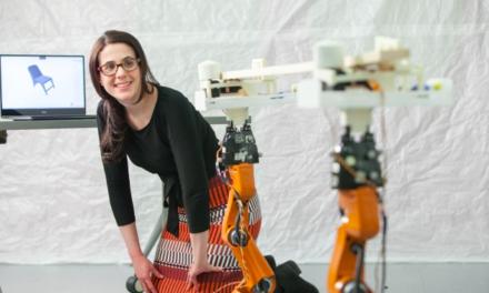 Deze robots maken meubels op maat (met video)
