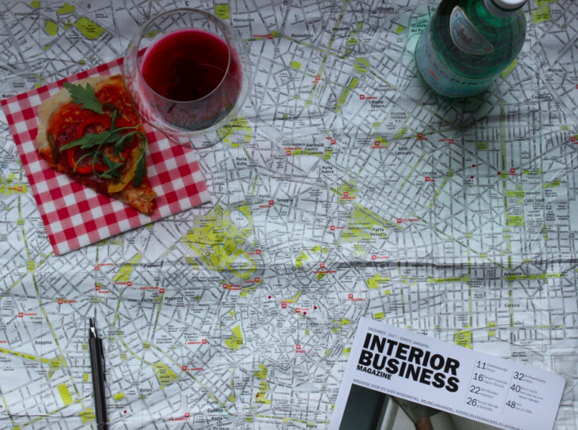 Interior Business doet live verslag vanuit Milaan