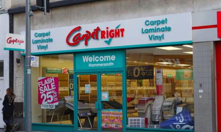 Carpetright sluit 92 winkels op thuismarkt
