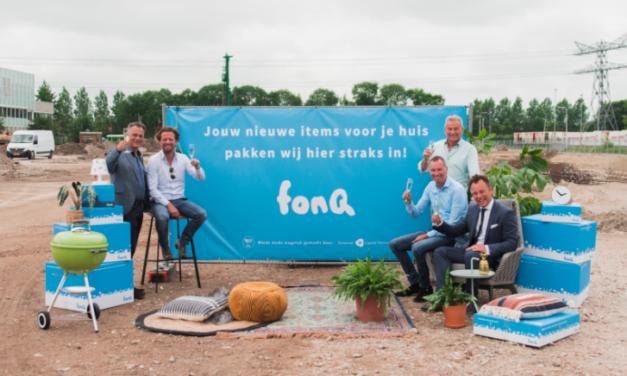 fonQ start bouw nieuw distributiecentrum in Utrecht