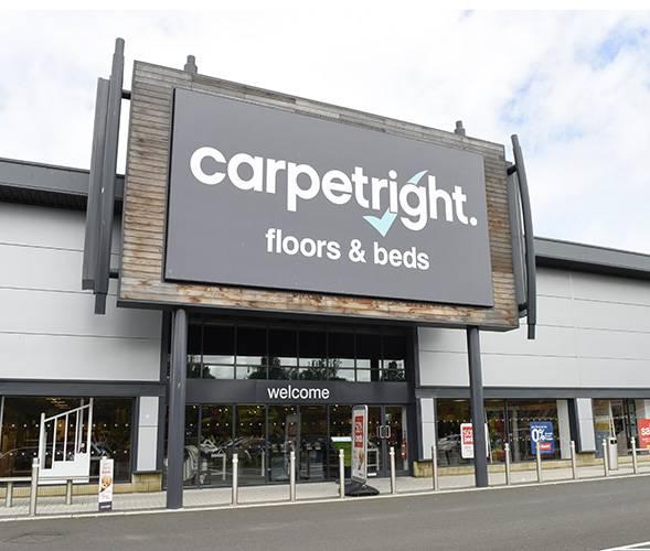 Carpetright vervangt leiding voor Nederland
