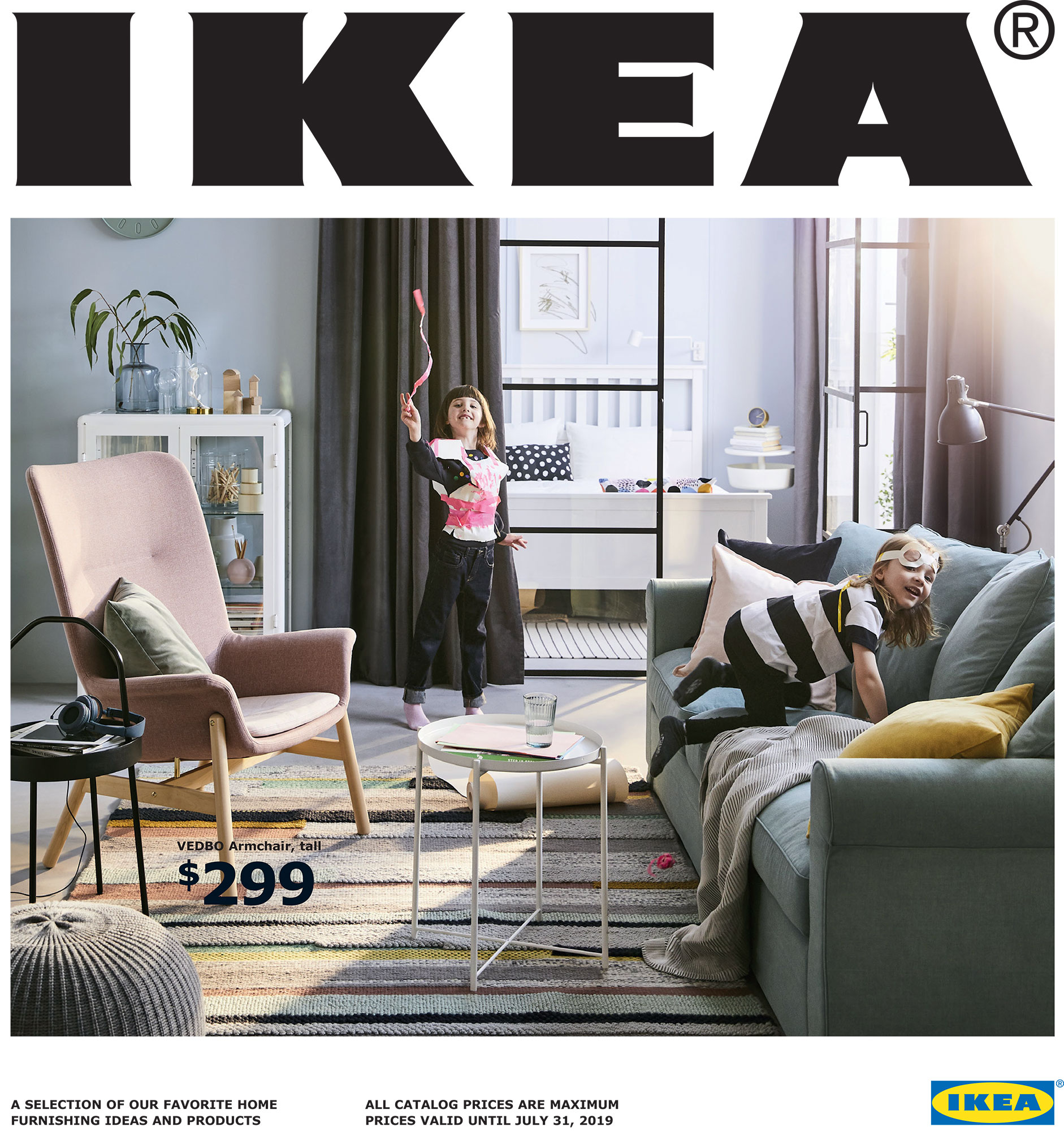 de ikea catalogus van 2019 complete woonconcepten. Black Bedroom Furniture Sets. Home Design Ideas