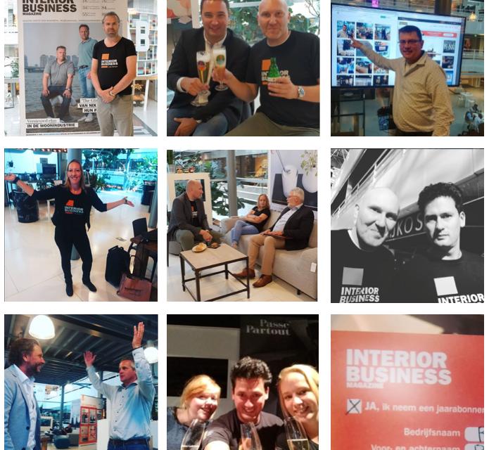 Insta-update: Interior Business deed *live* verslag van De Woonindustrie, de huisshow van Tower, Dutch Design Dock en meer