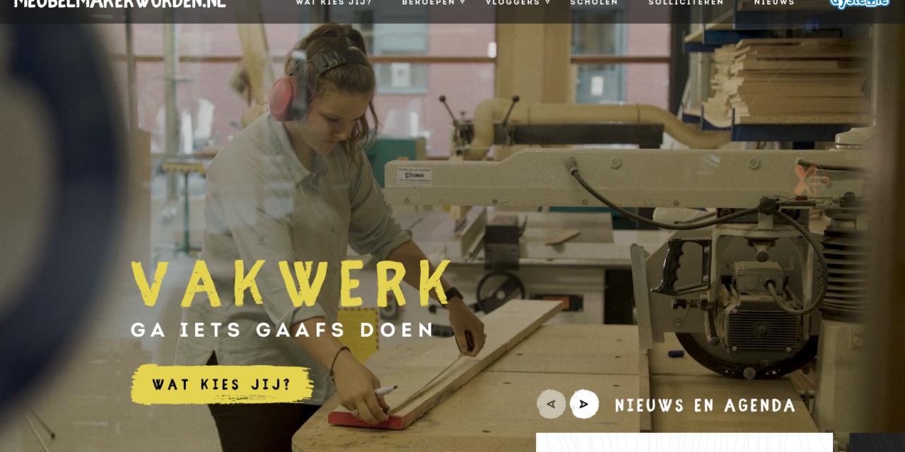 Expertisecentrum Meubel lanceert site www.meubelmakerworden.nl