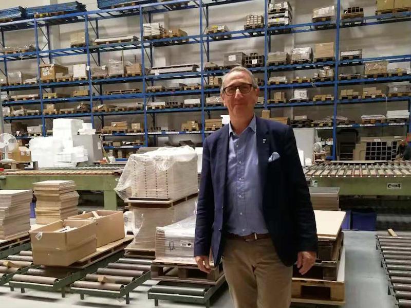 Jean-Claude Neirynck van Meubar: Flexibel en scherpe levertijden