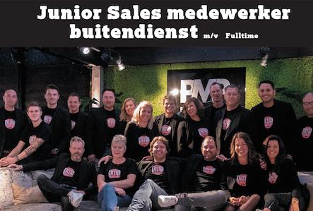 Vacature PMP Furniture: Junior Sales medewerker buitendienst m/v Fulltime