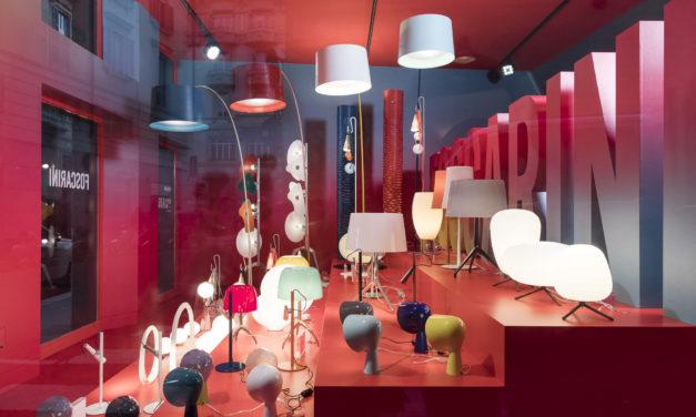 Foscarini opent nieuwe showroom in Milaan
