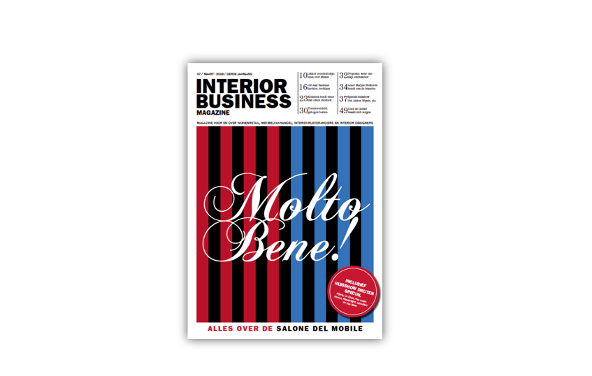 Deze week te lezen in Interior Business Magazine #7