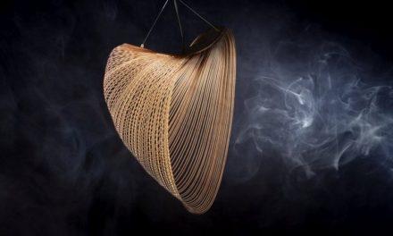Luceplan: lamp tart zwaartekracht