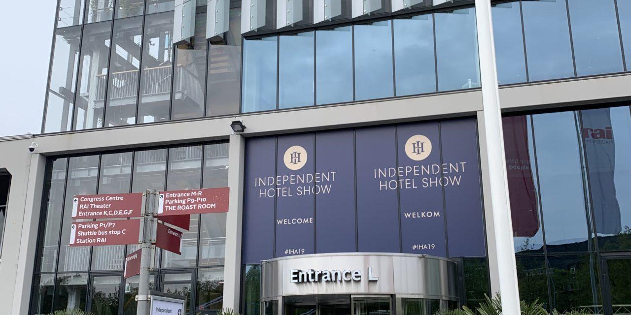 Een eerste sfeerimpressie van de Independent Hotel Show