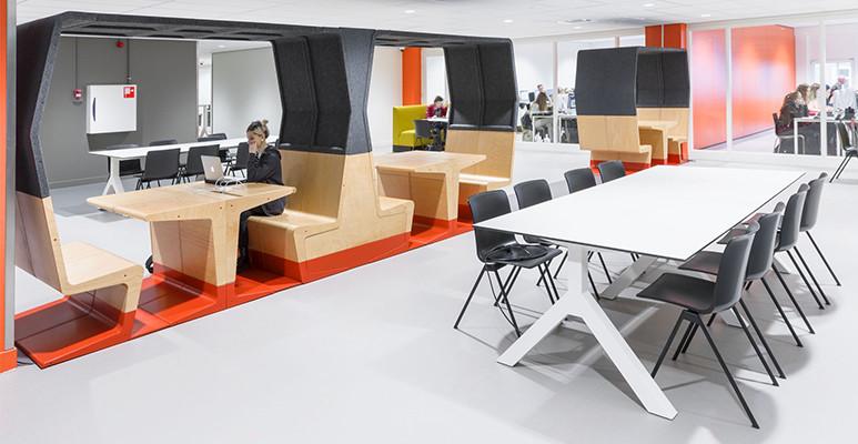 Gispen uitgebreid aanwezig op Design District