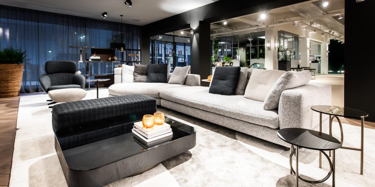 Minotti Studio geopend bij Co van der Horst