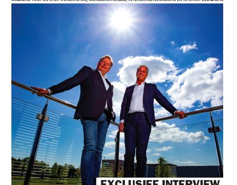 Nieuwe editie Interior Business Magazine: exclusief dubbelinterview met Peter Seemann en Henk Voortman.