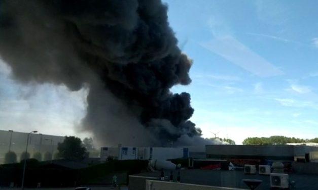 Brand bij Cartel Living in Culemborg