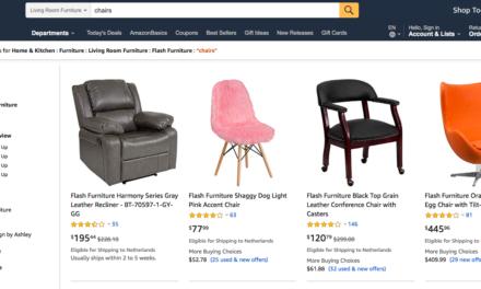 Amazon gaat Europa in