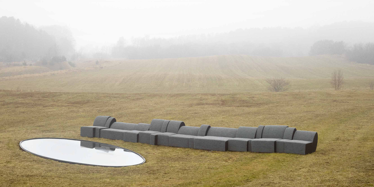 Kvadrat en Olafur Eliasson: Fog Couch