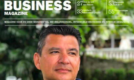 Interior Business Magazine verschenen: Marieke van den Berg, Daniel Nijdam, Caccaro en Rebel Wonen
