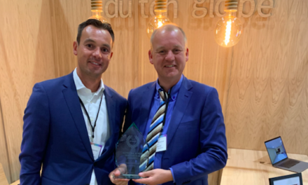Dutchglobe trotse winnaar Design Excellence Award in London