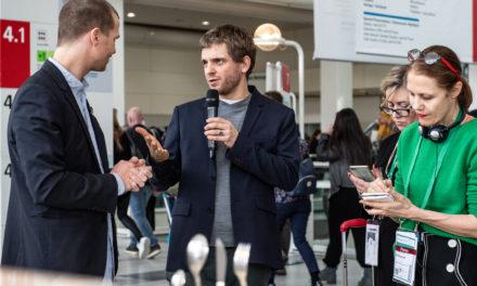 Ineke Hans en Mark Braun geven tours tijdens Ambiente 2020