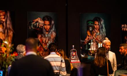 Samenwerking Skully Gin en PMP Furniture op artistiek event in Eindhoven