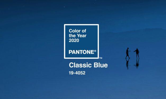 Pantone's kleur van het jaar speelt op safe