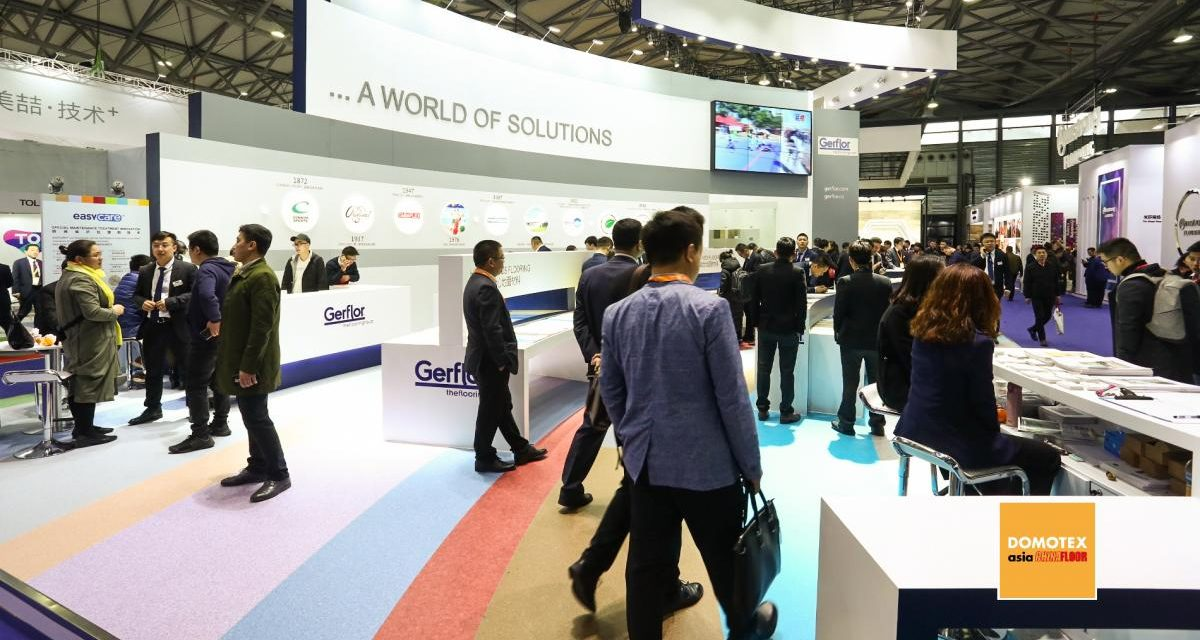 Corona zorgt voor uitstel DOMOTEX Asia/Chinafloor