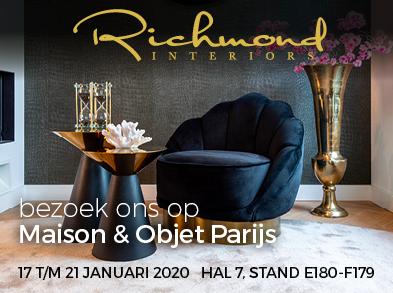 Richmond Interiors nodigt u uit in Parijs
