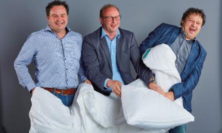 Interior Business lezer Hans Huisman van Huisman Wonen en Slapen: met een volle bus wijn retour naar huis