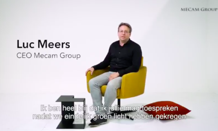 Luc Meers: fasten your seatbelts! Mecam Group kondigt grote media campagne aan.