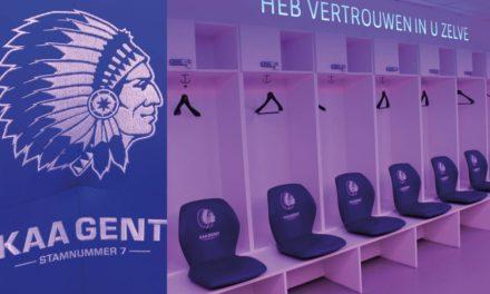 Mobitec levert kleedkamerstoelen aan KAA Gent