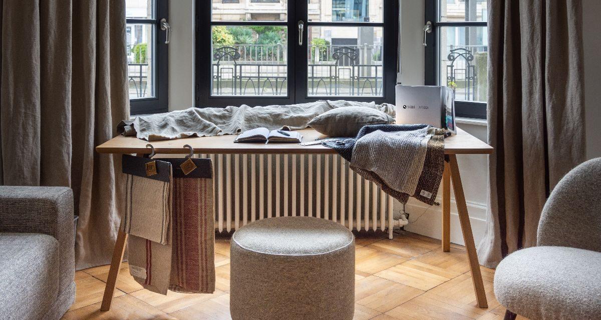 Manuel Larraga opent showroom in Antwerpen
