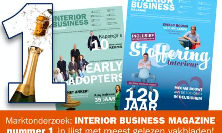 Wat leest de meubelbranche? Recent marktonderzoek: Interior Business Magazine op nummer 1!