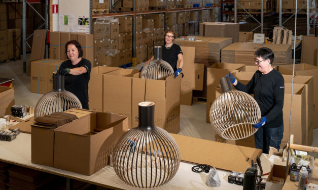 Secto Design investeert in duurzaam verpakken