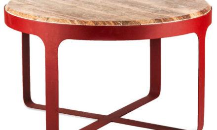 Nieuwe koffietafel en spiegel van Pols Potten