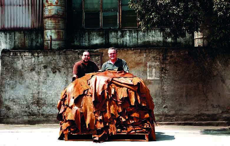 Timothy Oulton en Diego Diaz werken al lang samen