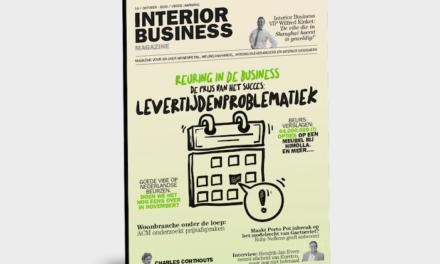 ABO AKTIE en… nieuwste editie Interior Business Magazine op de mat: reuring in de branche!