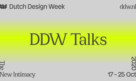 Programma DDW Talks bekendgemaakt