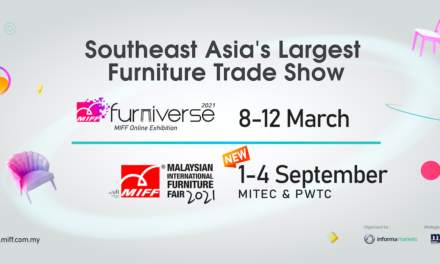 Malaysian International Furniture Fair (MIFF) verplaatst naar september