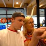 Bij Zitmaxx shoppende Enzo Knol leidt tot commotie