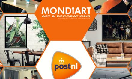 MONDiART en PostNL slaan handen ineen: 'Met de B2B Extra@Home service hangen we onze kunstwerken aan de muur van jouw klant'