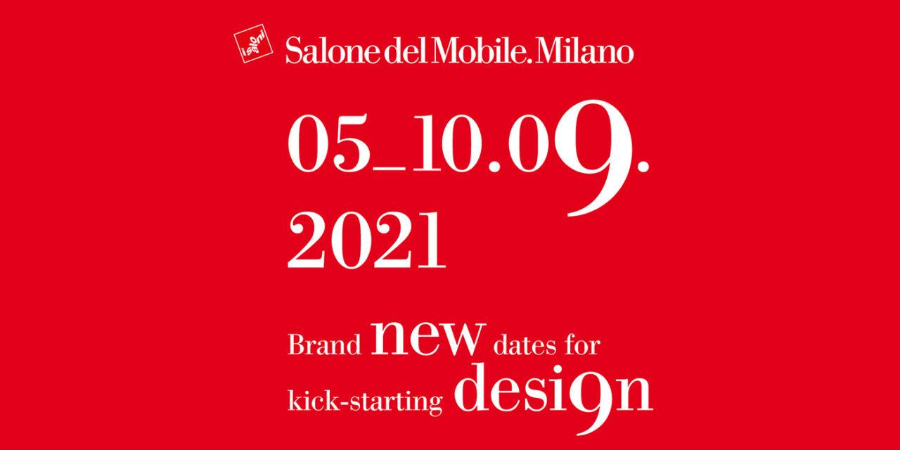 Salone del Mobile 2021 gaat door: 5 tot en met 10 september