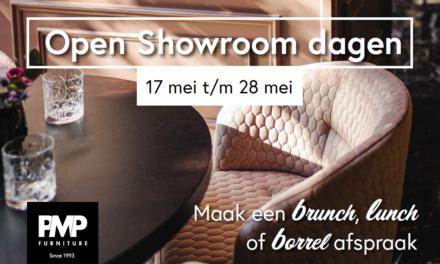 Totaal vernieuwde hospitality showroom PMP Furniture te bewonderen tijdens Open Showroom Dagen