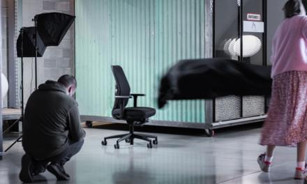 Drisag: eerste circulaire bureaustoel