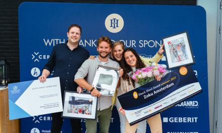 Dutch Hotel Award uitgereikt aan Zoku