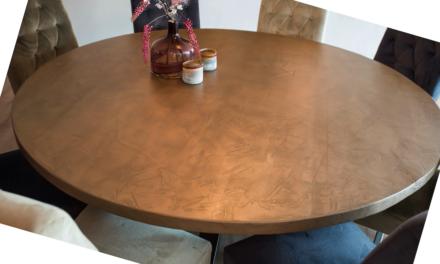 Meubelhart debutant Design by Ricardo maakt bijzondere tafels