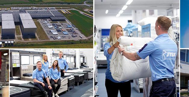 De Deense woonwinkelketen Jysk boekt recordomzet van bijna 4,4 miljard euro