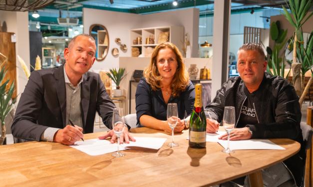 Nieuw showroom concept Dutch Interior voor het eerst bij Van der Meer Wonen in Sneek