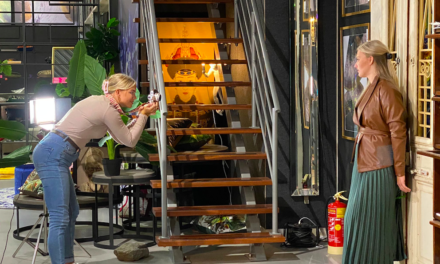 Art meets fashion in de showroom van MONDiART